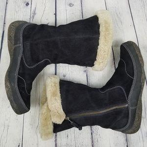 CLARKS | Novice Moon shearling fur boots